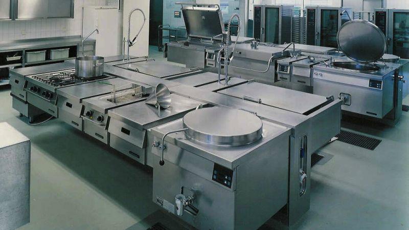 Professionele keuken verzorgingstehuis