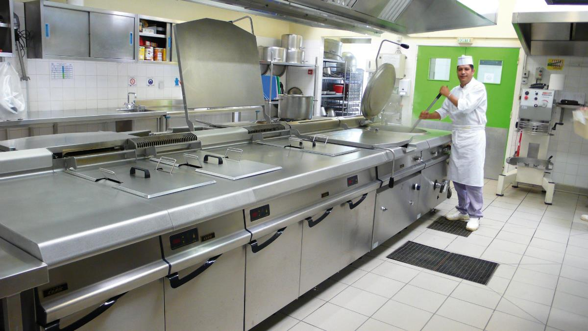 professionele keukeninrichting