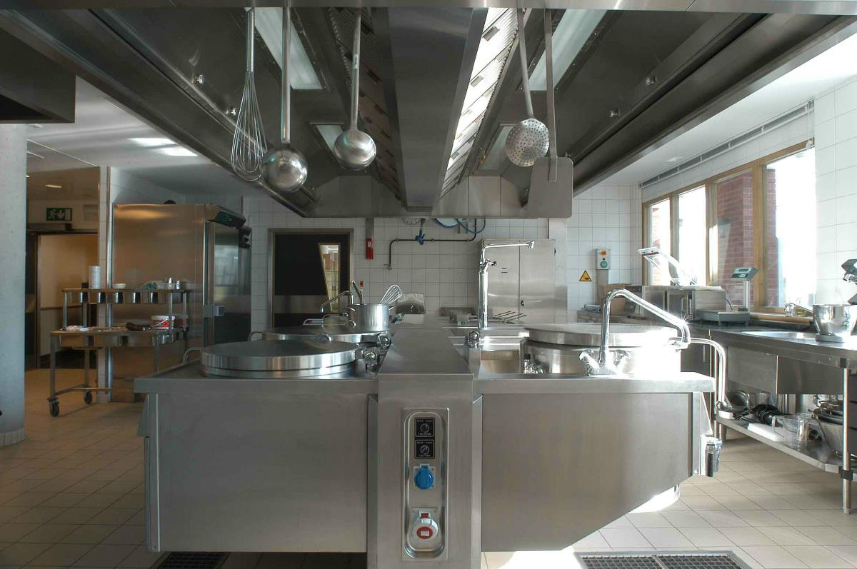 Industriële keuken
