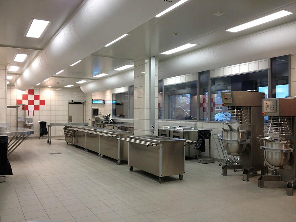 plaatser professionele keuken