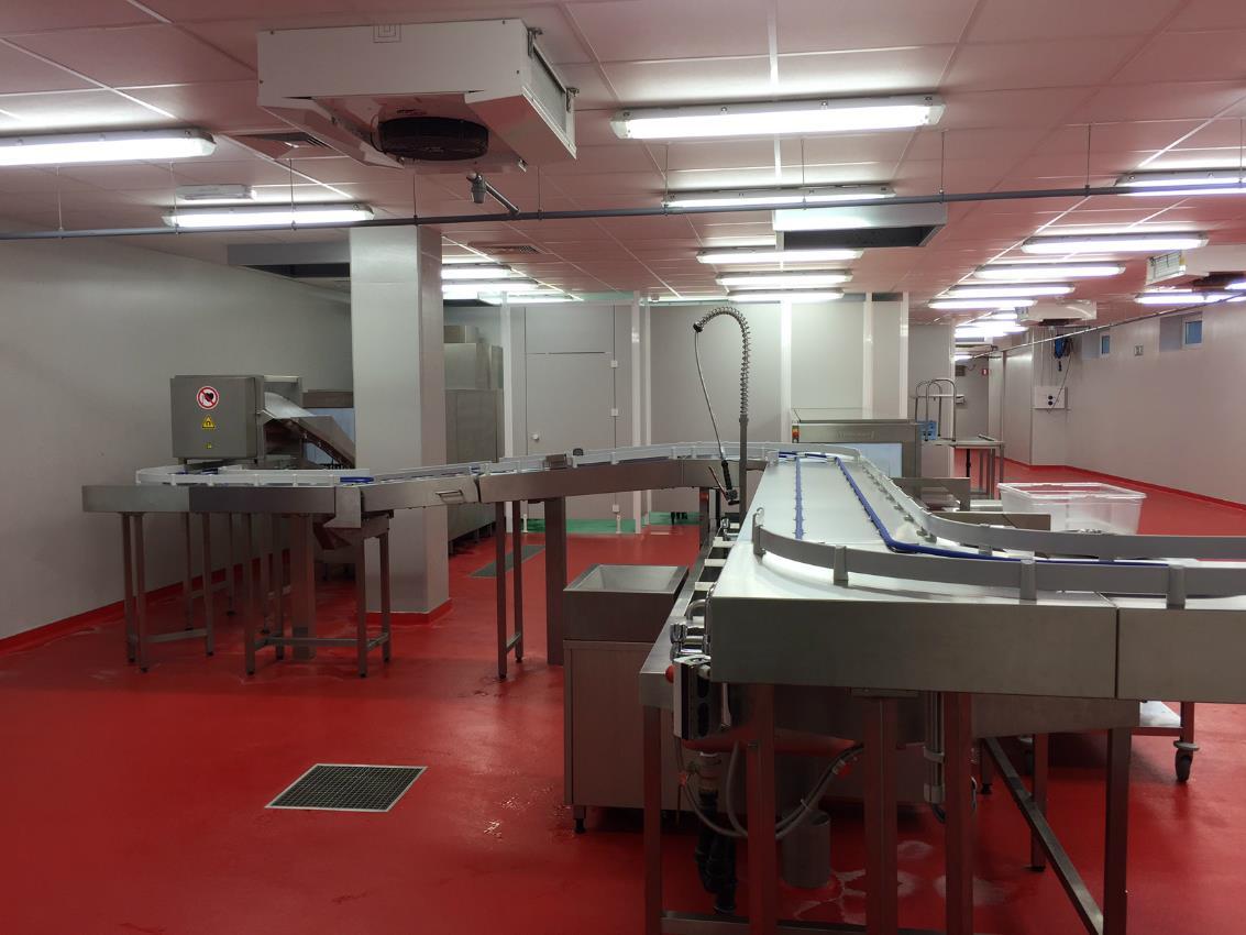 Professionele keuken ziekenhuis