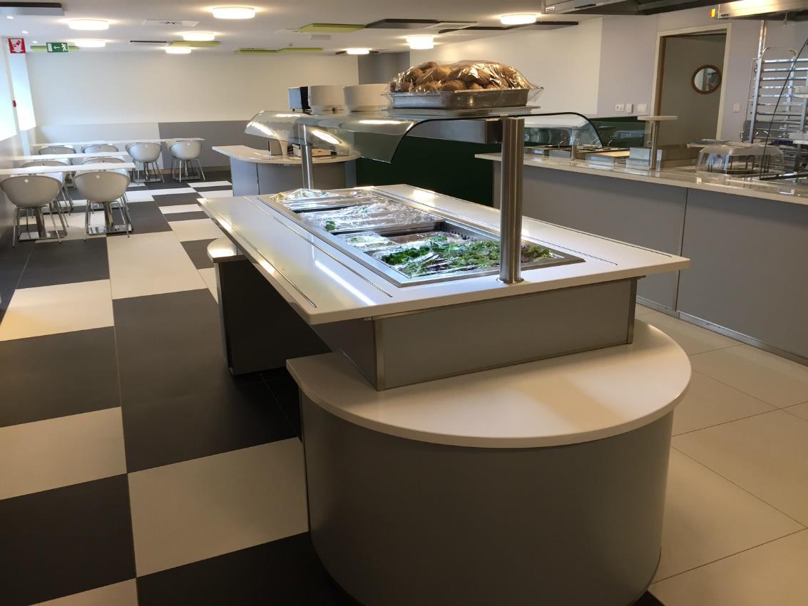 Cuisines professionnelles pour collectivités Vivalia