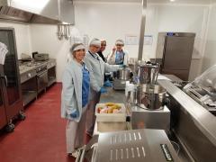 CHC Montlegia - keuken en zelfbedieningstoog